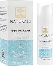 Духи, Парфюмерия, косметика Матирующий крем для лица для жирной и комбинированной кожи - BIOselect Naturals Matte Face Cream