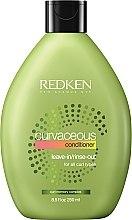 Парфумерія, косметика Кондиціонер для в'юнкого волосся - Redken Curvaceous Leave-In Hair Conditioner
