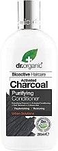 Духи, Парфюмерия, косметика Кондиционер для волос с активированным углем - Dr. Organic Bioactive Haircare Activated Charcoal Conditioner