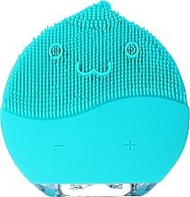 Духи, Парфюмерия, косметика Щетка для очищения лица, BR-030, голубая - Lewer Facial Cleansing Brush Blue