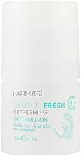 Духи, Парфюмерия, косметика Дезодорант шариковый - Farmasi Gantle Fresh Refreshing Deo Roll-on