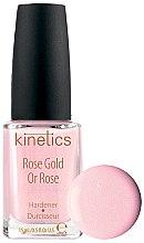 Духи, Парфюмерия, косметика Укрепитель для ногтей - Kinetics Rose Gold Hardener