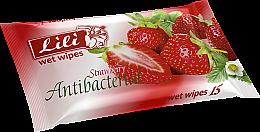 Парфумерія, косметика Вологі серветки з ароматом полуниці - Lili