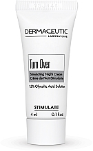 Духи, Парфюмерия, косметика Стимулирующий ночной крем - Dermaceutic Laboratoire Turn Over Stimulating Night Cream 15% Glycolic Acid Solution (пробник)
