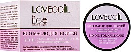 Духи, Парфюмерия, косметика Био-масло для ногтей 3 в 1 - Lovecoil Nail Care Bio-Oil 3 in 1