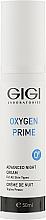Духи, Парфюмерия, косметика Ночной крем - Gigi Oxygen Prime Advanced Night Cream