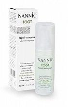 Духи, Парфюмерия, косметика Восстанавливающий крем для ног - Nannic Foot Repair Complex