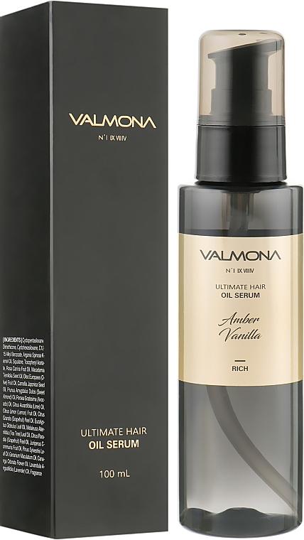 Сыворотка для волос с ароматом ванили - Valmona Ultimate Hair Oil Serum Amber Vanilla