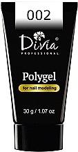 Духи, Парфюмерия, косметика Полигель для наращивания ногтей - Divia Polygel For Nail Modeling