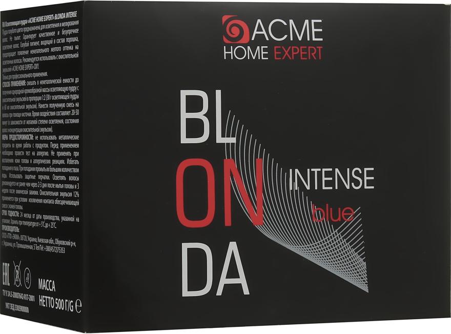 Осветляющая пудра для волос - Acme Color Acme Home Expert Blonda Intense Blue