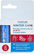 Духи, Парфюмерия, косметика Защитный бальзам для губ, SPF20 - Floslek Winter Care Protective Lipstick