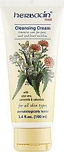 Духи, Парфюмерия, косметика Очищающий крем для лица, шеи и декольте - Herbacin Herbal Facial Med Foaming Cleansing Cream