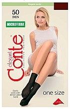 """Духи, Парфюмерия, косметика Носки для женщин """"Microfibra"""" 50 den, mocca - Conte"""