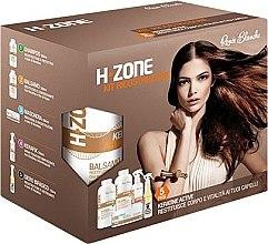 Духи, Парфюмерия, косметика Восстанавливающий набор для волос - H.Zone (shm/500/ml + lot/500/ml + spray/250/ml + serum/150/ml + towel)