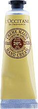Духи, Парфюмерия, косметика Крем для рук - L'occitane Hand Cream Shea Butter Vanilla