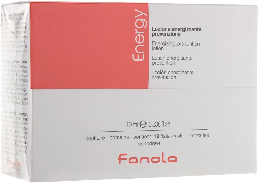 Ампулы-лосьон против выпадения волос - Fanola Energy Anti Hair Loss Lotion