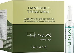 Духи, Парфюмерия, косметика Комплекс против сухой и жирной перхоти - Rolland Una Dandruff Treatment