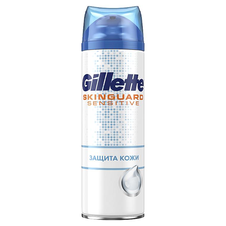 """Гель для бритья с экстрактом алоэ """"Защита кожи"""" - Gillette SkinGuard Sensitive"""