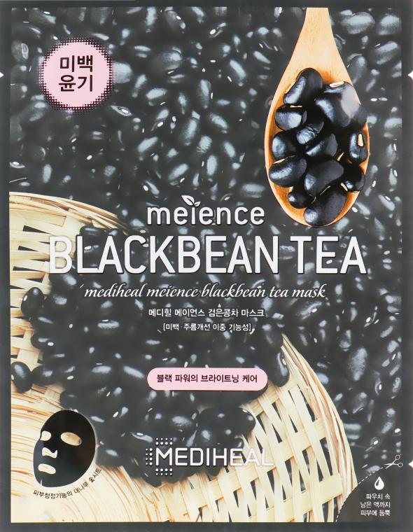 Маска для лица с экстрактом черных бобов - Mediheal Meience Blackbean Tea Mask