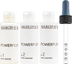 Набор - Selective Professional Powerplex Kit (hair/lot/100ml + hair/lot/2x100ml) — фото N2