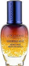 Парфумерія, косметика Нічний еліксир для обличчя - L'Occitane Immortelle Overnight Reset Oil-In-Serum
