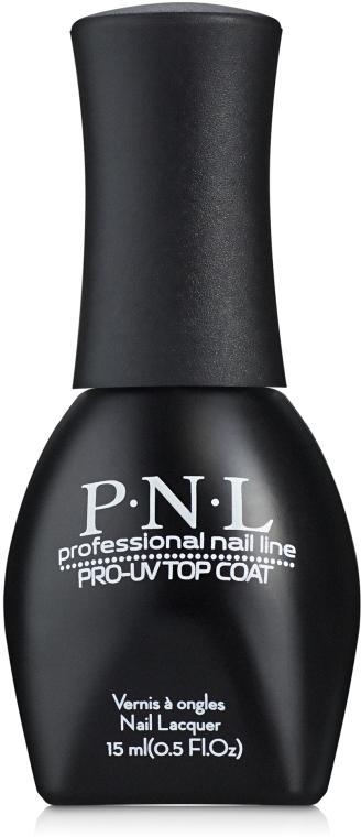 Гелевое покрытие без сушки в UV-лампе №408 - PNL Professional Pro-UV Top Coat