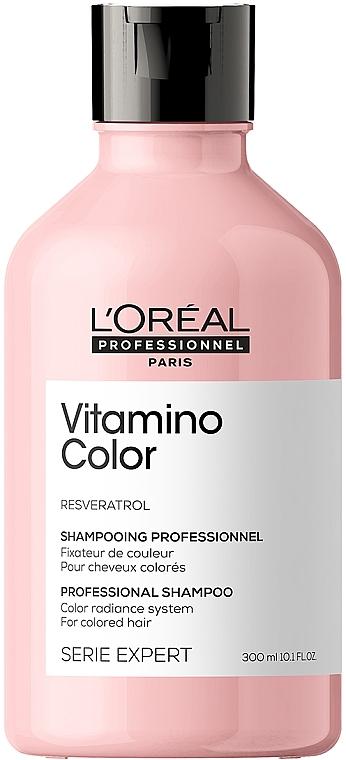 Шампунь для окрашенных волос - L'Oreal Professionnel Serie Expert Vitamino Color Resveratrol Shampoo