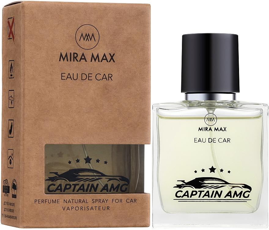 Ароматизатор для авто - Mira Max Eau De Car Captain AMG Perfume Natural Spray For Car Vaporisateur