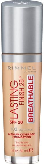 Тональная основа - Rimmel Lasting Finish 25h Breathable Foundation SPF20