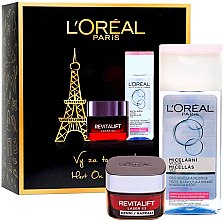 Духи, Парфюмерия, косметика Набор - L'Oreal Paris Revitalift Kit (cr/50ml + micellar/200ml)