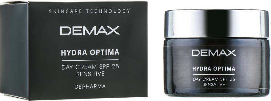 Защитно-успокаивающий крем - Demax Sensitive Protecting Day Cream SPF 25