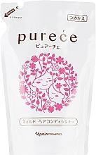 Духи, Парфюмерия, косметика Мягкий кондиционер для волос - Naris Purece Mild (сменный блок)