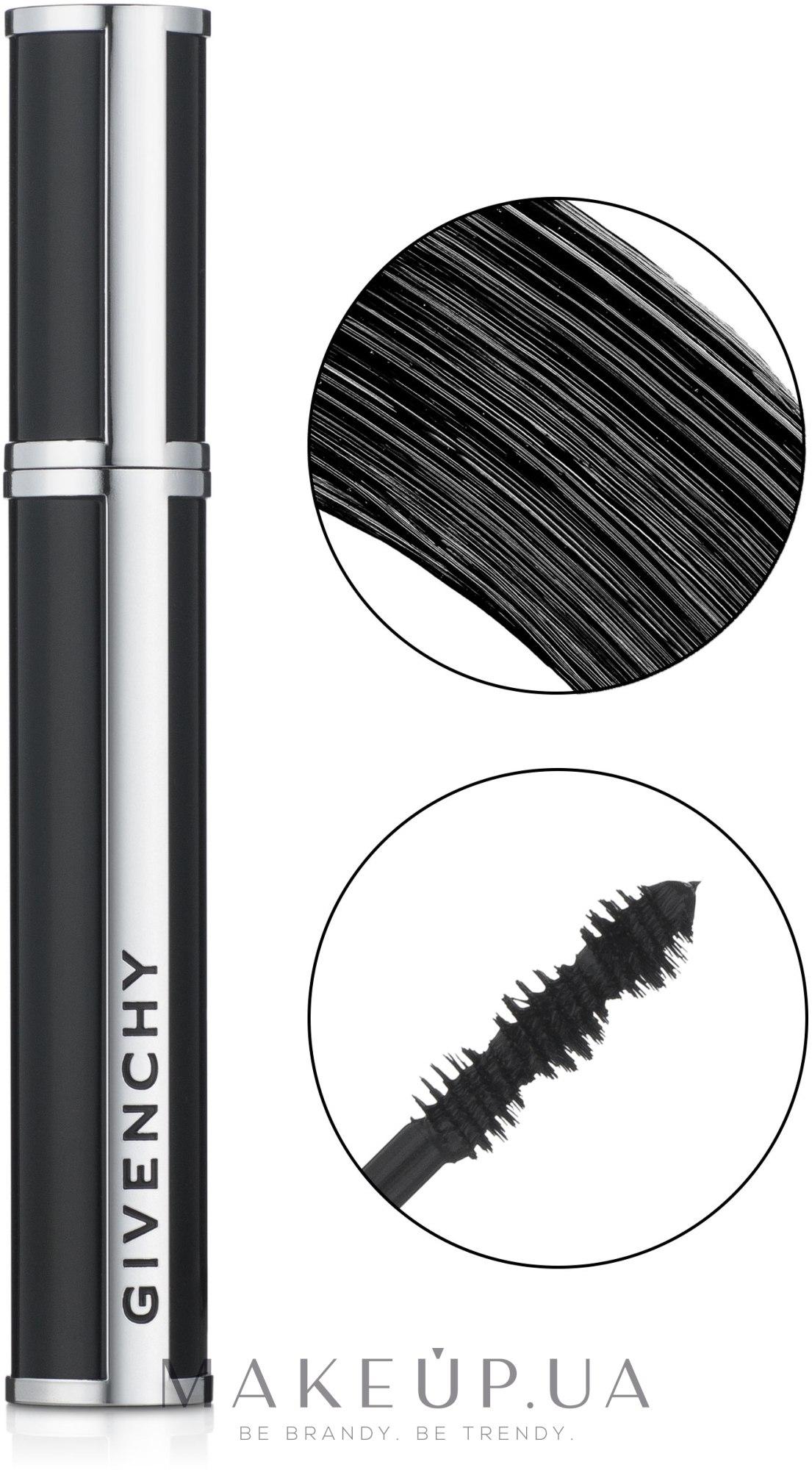 Туш для вій 4 в 1 - Givenchy Noir Couture 4 in 1 Mascara — фото 1 - Black Satin