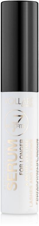 Сыворотка для роста бровей и ресниц - Vollare Cosmetics Professional Serum