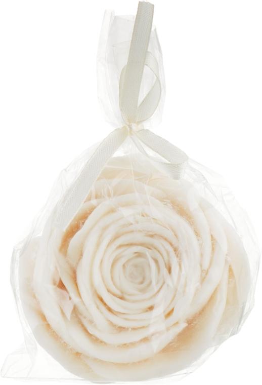 Сувенирное мыло «Роза» с ароматом кокоса - Nishen Soap