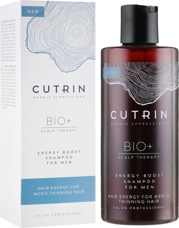 Шампунь от выпадения волос для мужчин - Cutrin Bio+ Energy Boost Shampoo For Men