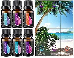Духи, Парфюмерия, косметика Набор эфирных масел - O`linear Natural Essential Oils