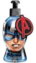 Духи, Парфюмерия, косметика Гель-шампунь - Marvel Avengers Captain America