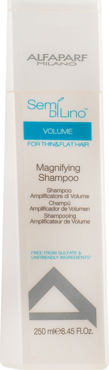 Шампунь для объема волос - Alfaparf Semi di Lino Volume Magnifying Shampoo