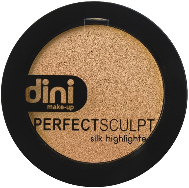 Хайлайтер для лица - Dini Perfect Sculpt Silk Higligher