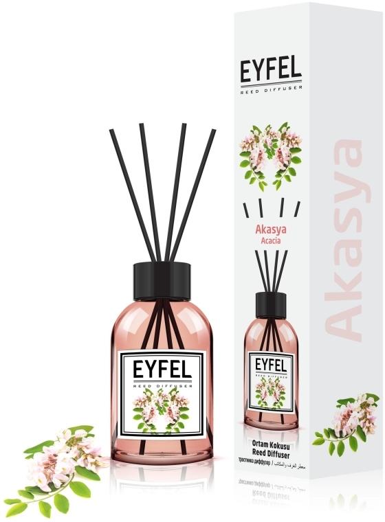 "Аромадиффузор ""Акация"" - Eyfel Perfume Reed Diffuser Acacia"