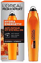 Духи, Парфюмерия, косметика Ролик для кожи вокруг глаз - L'Oreal Paris Men Expert Hydra Energetic Ice Cold Eye Roller