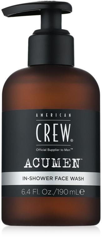 Гель для умывания в душе - American Crew Acumen In-Shower Face Wash
