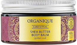 """Духи, Парфюмерия, косметика Бальзам для тела """"Golden Oud """" - Organique Organique Shea Butter Body Balm Golden Oud"""