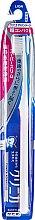 Духи, Парфюмерия, косметика Зубная щетка суперкомпактная, 4-рядная с плоским срезом, жесткая, белая - Lion Clinica Advantage