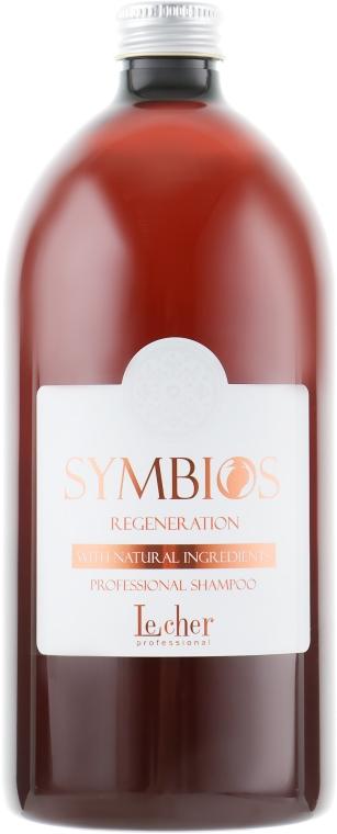 Восстанавливающий шампунь - Lecher Symbios Regeneration Shampoo