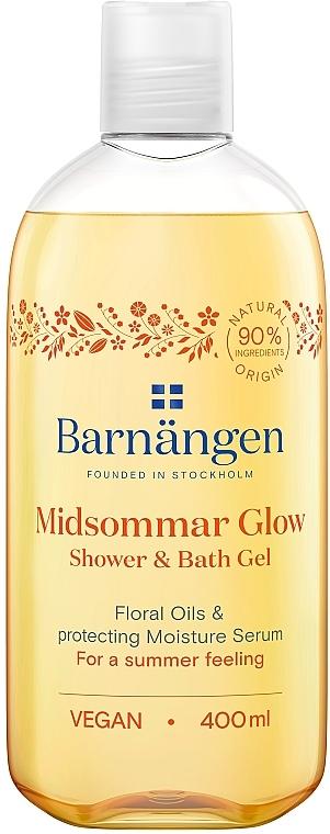Гель для душа с цветочными маслами - Barnangen Nordic Rituals Midsommar Glow Shower&Bath Gel