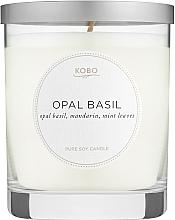 Духи, Парфюмерия, косметика Kobo Opal Basil - Ароматическая свеча