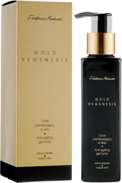 Омолаживающий гель-тоник для лица - Federico Mahora Gold Regenesis