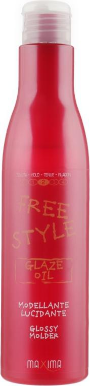 Масло для блеска волос - Maxima Free Style Oil